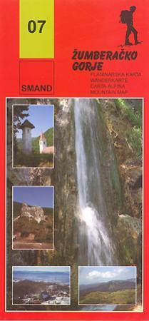 07 - Žumberačko Gorje turistatérkép - Smand