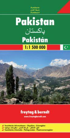 Pakisztán autótérkép - f&b AK 153