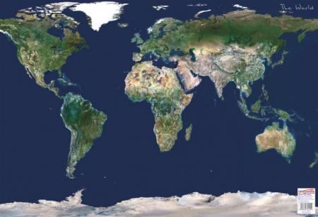 Föld űrtérkép könyöklő - Stiefel