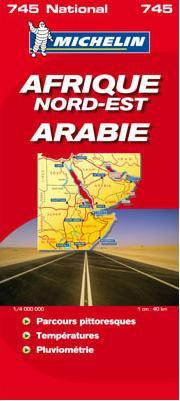 szak-kelet Afrika / Arbia trkp - Michelin 745
