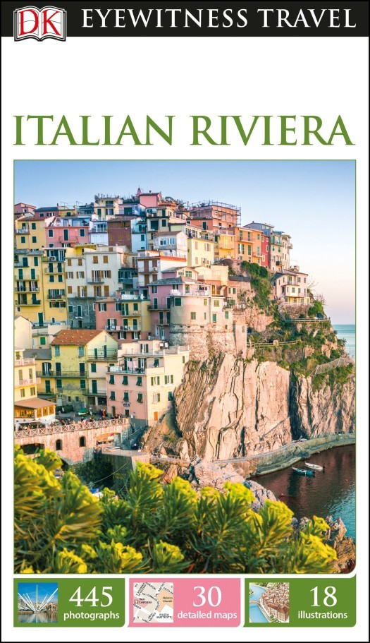 Italian Riviera (Olasz Riviéra) Eyewitness Travel Guide