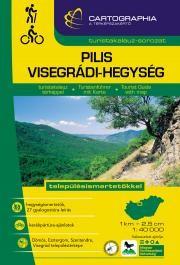 Pilis, Visegrádi-hegység turistaatlasz - Cartographia