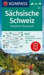 WK 810 - Sächsische Schweiz-Westliche Oberlausitz turistatérkép - KOMPASS