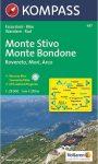 WK 687 - Monta Stivo-Monte Bondone turistatérkép - KOMPASS