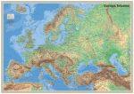 Európa felszíne falitérkép - Topográf