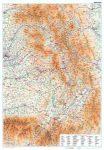 Székelyföld falitérkép - GiziMap