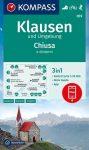 WK 059 - Klausen és környéke turistatérkép - KOMPASS