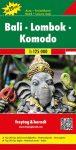 Bali-Lombok-Komodo autótérkép - f&b AK 163