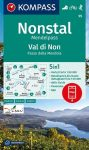 WK 95 - Valle di Non/Nonstal turistatérkép - KOMPASS