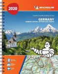 Németország, Ausztria, Benelux, Svájc, Csehország atlasz - Michelin
