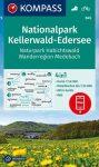 WK 845 - Nationalpark Kellerwald - Edersee  turistatérkép - KOMPASS