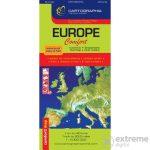 Európa laminált térkép - Cartographia