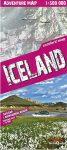 Izland trekking térkép - Terra Quest