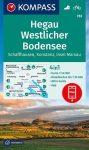 WK 783 - Hegau - Westlicher Bodensee turistatérkép - KOMPASS