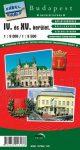 IV. - XV. kerület térkép - Topopress