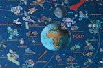 Naprendszer falitérkép - Vince