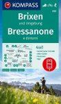 WK 050 - Brixen és környéke turistatérkép - KOMPASS