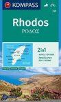 WK 248 - Rodosz turistatérkép - KOMPASS