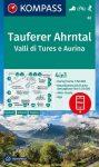 WK 82 - Taufers - Ahrntal/Tures - Valle Aurina turistatérkép - KOMPASS