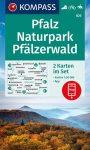 WK 826 - Pfalz - Naturpark Pfälzerwald 2 részes turistatérkép - KOMPASS