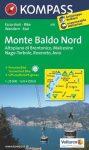 WK 691 - Monte Baldo Nord turistatérkép - KOMPASS