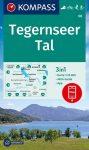 WK 08 - Tegernseer Tal turistatérkép - KOMPASS