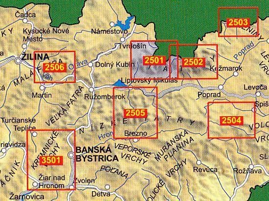 magas tátra térkép Tatra Plan 2502   Vysoké Tatry (Magas Tátra) turista térkép  magas tátra térkép