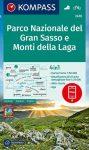 WK 2476 - Parco Nazionale del Gran Sasso e Monti della Laga turistatérkép - KOMPASS