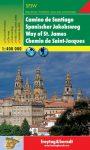 Spanyol Jakab út térkép - f&b GPSPJW