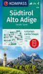 WK 699 - Dél-Tirol 4 részes turistatérképkészlet - KOMPASS
