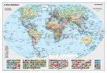 A Föld országai térkép falitérkép (100 x 70 cm) - Stiefel
