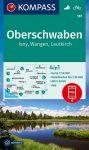 WK 187 - Oberschwaben turistatérkép - KOMPASS