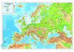 Európa domborzata térkép könyöklő - Stiefel