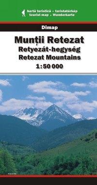 Retyezát-hegység turistatérkép - Dimap