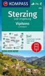 WK 058 - Sterzing und Umgebung / Vipiterno e dintorni turistatérkép - KOMPASS