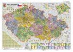 Csehország közigazgatása falitérkép - Stiefel