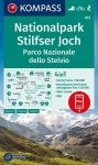 WK 072 - Nationalpark Stilfser Joch - Parco Nationale dello Stelvio turistatérkép - KOMPASS