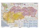 Szlovákia postai irányítószámai falitérkép - Stiefel
