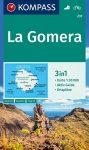 WK 231 - La Gomera turistatérkép - KOMPASS