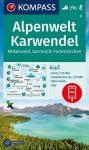 WK 6 - Alpenwelt Karwendel turistatérkép - KOMPASS