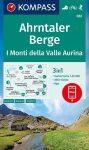 WK 082 - Ahrntaler Berge / Monti di Valle Aurina turistatérkép - KOMPASS
