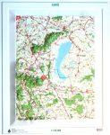 Fertő és környéke dombortérkép - HM