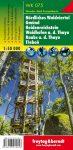 Nördliches Waldviertel – Gmünd – Heidenreichstein – Waidhofen a.d.T. – Raabs a.d.T. – Trebon  turistatérkép - f&b WK 075