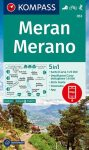 WK 053 - Meran / Merano turistatérkép - KOMPASS