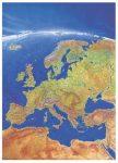 Európa panorámatérképe falitérkép - Stiefel