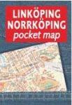 Linköping, Norrköping zsebatlasz - Liber Kartor