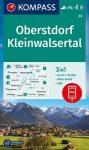 WK 03 - Oberstdorf - Kleinwalsertal turistatérkép - KOMPASS