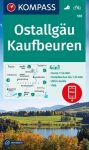 WK 188 - Ostallgäu - Kaufbeuren turistatérkép - KOMPASS
