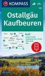 WK 188 - Kaufbeuren - Ostallgäu turistatérkép - KOMPASS
