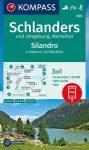 WK 069 - Schlanders / Silandro turistatérkép - KOMPASS